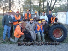 Phil Doud Group: Mid November 2007 pheasant hunt.